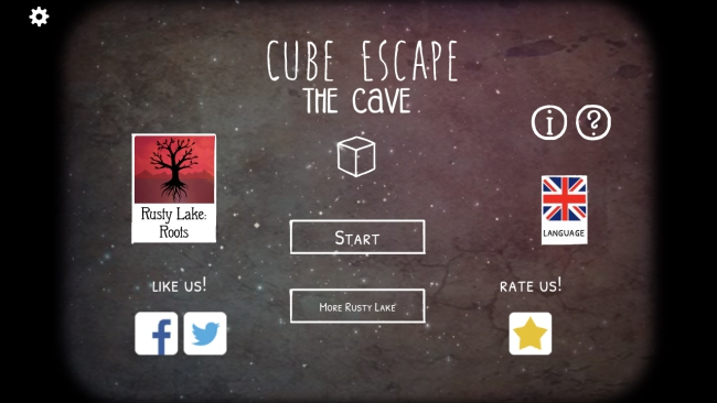 Cube Escape: The Cave