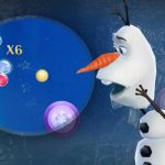 アナと雪の女王 Free Fall:スノーショットの感想/評価 グラフィックが素晴らしい爽快感のあるパズルゲーム
