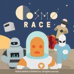 コスモレース (Cosmo Race)はダッシュ&壁けり+アイテム妨害で順位を競う2Dレースゲーム