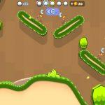 ゴルフヒーロー – ピクセルゴルフ3Dの感想/評価 ギミックをかわしつつホールインワンを狙うサイドビュー型ゴルフゲーム