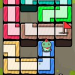「Find The Road」の感想/評価 ピースをつなげて道を作り旅人をゴールへと導くパズルゲーム