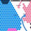 「Hexar.io」の感想/評価 線を引いて陣地を広げていく陣取りアクションゲーム