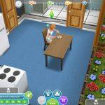 「The Sims フリープレイ」は、家を建て料理を作り恋をする、街も住民も自由に育てられるシュミレーションゲーム