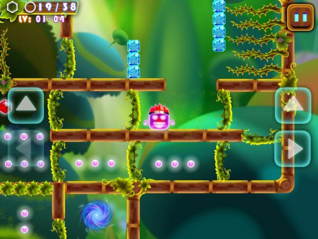 Super Bounce Slime:maze dash