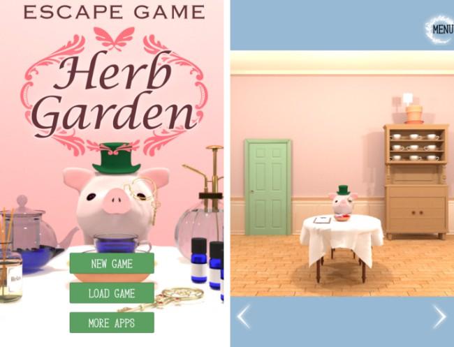 脱出ゲーム Herb Garden